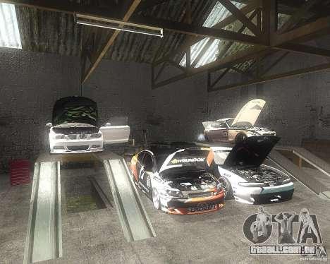 BMW 135i Hella Drift para GTA San Andreas vista interior