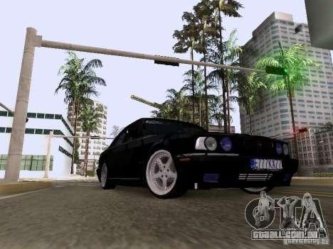 BMW E34 540i para GTA San Andreas