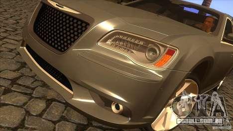 Chrysler 300 SRT-8 2011 V1.0 para vista lateral GTA San Andreas