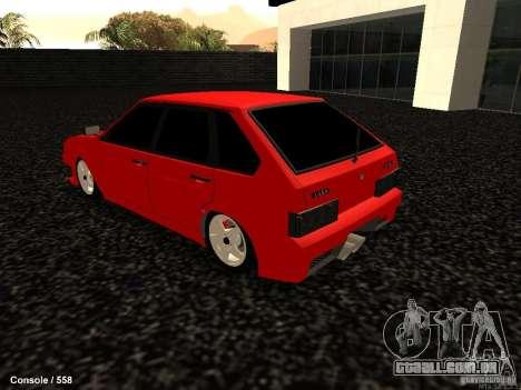 VAZ 2109 Opera Turbo para GTA San Andreas esquerda vista