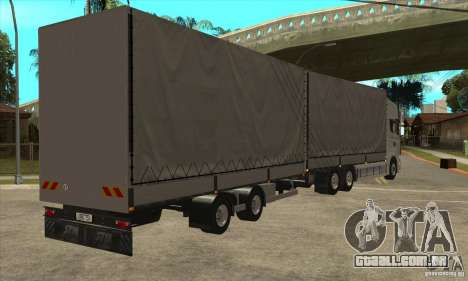 Scania R620 V8 para GTA San Andreas vista direita