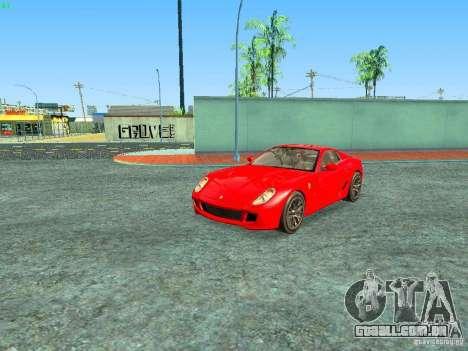 Ferrari 599 GTB para GTA San Andreas