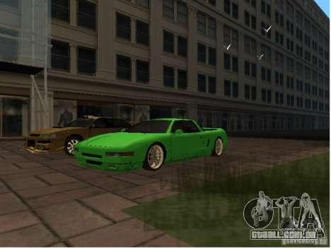 Deluxo Wheels Mod para GTA San Andreas por diante tela