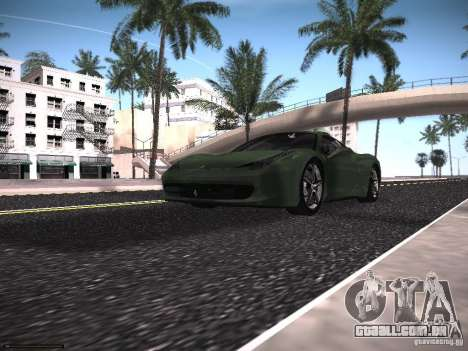 LiberrtySun Graphics ENB v2.0 para GTA San Andreas twelth tela