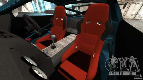 Mazda RX-7 RE-Amemiya v2 para GTA 4 vista interior