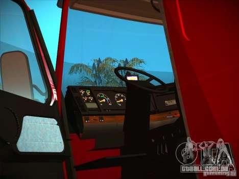 Volvo FH12 para vista lateral GTA San Andreas