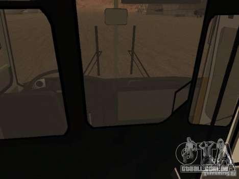 IKARUS 280.46 para GTA San Andreas vista interior