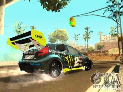 Ford Fiesta Rally Time para GTA San Andreas vista direita