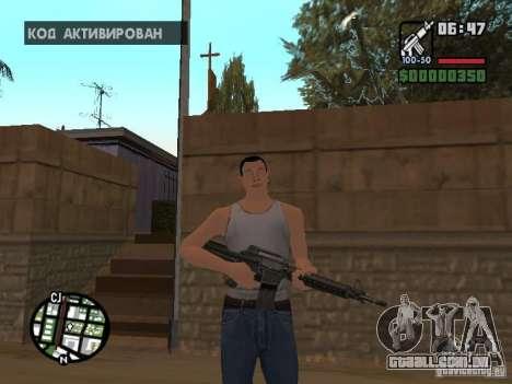 Skin para CJ-Cool guy para GTA San Andreas por diante tela