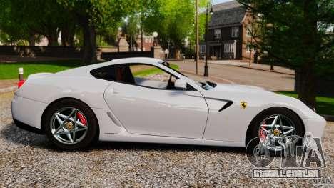 Ferrari 599 GTB Fiorano 2006 para GTA 4 esquerda vista