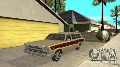 Ford Country Squire 1966 para GTA San Andreas