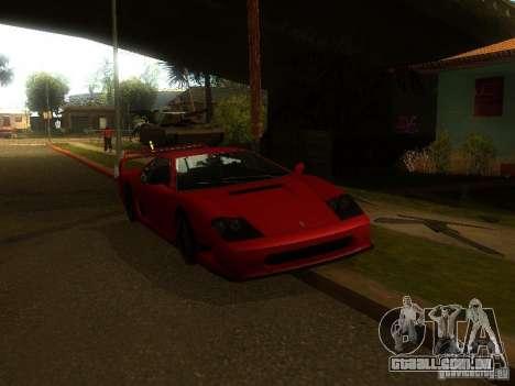 New Car in Grove Street para GTA San Andreas por diante tela