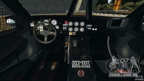 Dodge Power Wagon para GTA 4 vista de volta