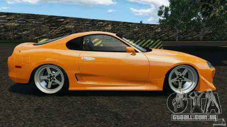 Toyota Supra Tuning para GTA 4 esquerda vista