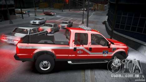 Ford Chief F250 para GTA 4 vista interior