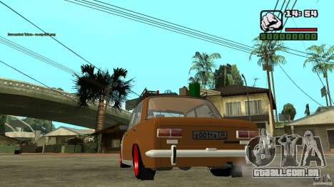 Lada 2101 OnlyDropped para GTA San Andreas vista direita