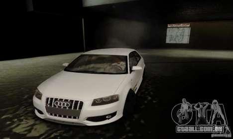 Audi S3 para GTA San Andreas vista superior