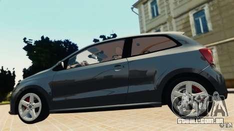 Volkswagen Polo v2.0 para GTA 4 traseira esquerda vista