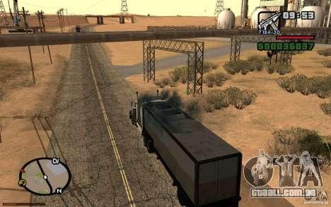 Painel ativo 3.1 para GTA San Andreas sexta tela
