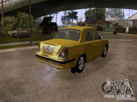 GAZ Volga 31107 para GTA San Andreas traseira esquerda vista