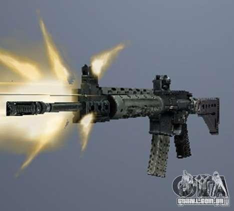 Um conjunto de armas do perseguidor V3 para GTA San Andreas segunda tela