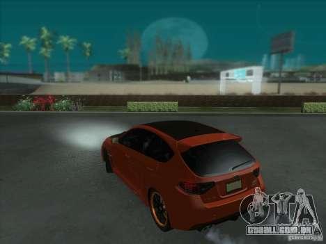 Subaru Impreza WRX STi para as rodas de GTA San Andreas