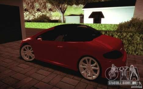 Peugeot 307CC BMS Edition para portáteis para GTA San Andreas traseira esquerda vista