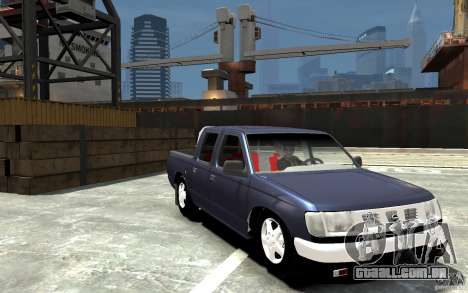 Nissan Pickup V 2005 para GTA 4 vista de volta