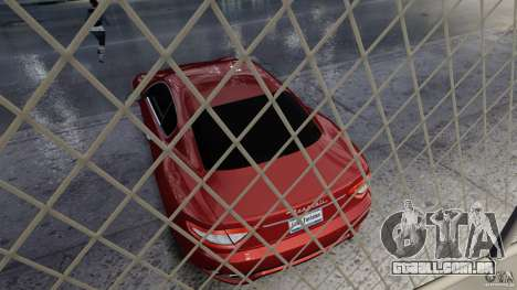 Maserati Gran Turismo 2008 Beta para GTA 4 vista de volta