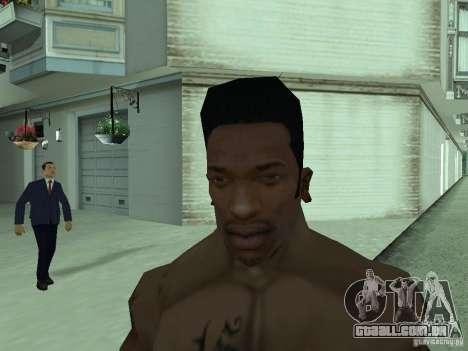 A NOVA CARA DO CJ para GTA San Andreas quinto tela