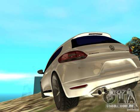 VW Scirocco III Custom Edition para GTA San Andreas