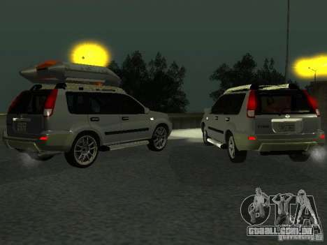 Nissan X-Trail para GTA San Andreas vista interior