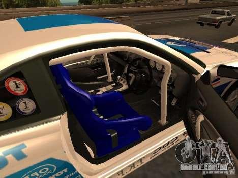Nissan s15 Performa Drift para GTA San Andreas traseira esquerda vista