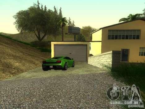 Carros caros na área exclusiva de Los Santos para GTA San Andreas segunda tela