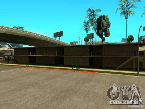 New Grove Street TADO edition para GTA San Andreas sétima tela