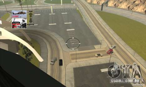 Police Maverick 2 para GTA San Andreas vista interior