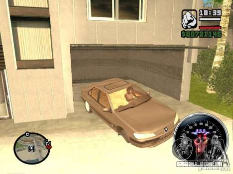 Speed Udo para GTA San Andreas por diante tela