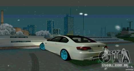 BMW E92 para GTA San Andreas vista direita