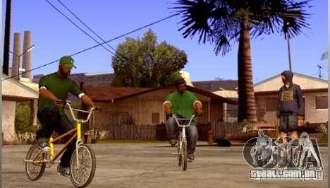 Salvar informações de AutoRecuperação para GTA San Andreas segunda tela