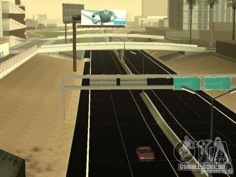 New Roads in San Andreas para GTA San Andreas por diante tela