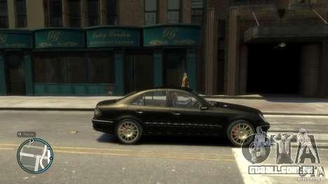 Mercedes-Benz E55 W211 para GTA 4 esquerda vista