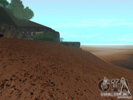 Praia de HQ v 1.0 para GTA San Andreas por diante tela
