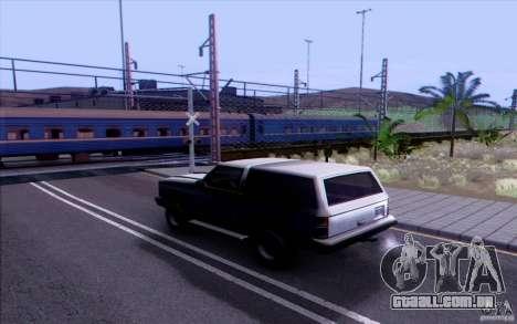 COMBOIO Russo versão v 1.0 para GTA San Andreas terceira tela