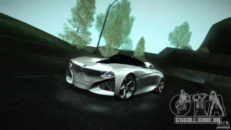 BMW Vision Connected Drive Concept para GTA San Andreas vista direita