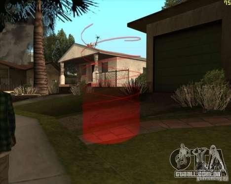 Novos marcadores para GTA San Andreas terceira tela