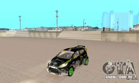 Ford Fiesta 2011 Ken Blocks para GTA San Andreas