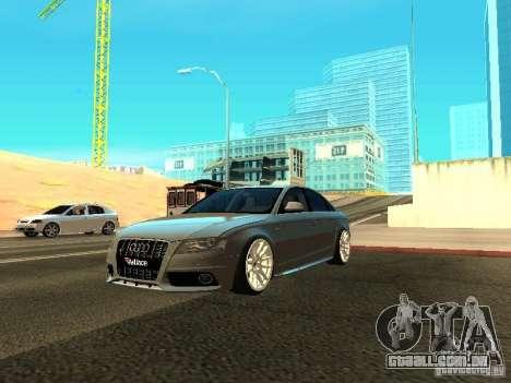 Audi S4 2010 para GTA San Andreas vista superior