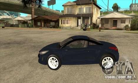 Peugeot RCZ 2011 para GTA San Andreas esquerda vista