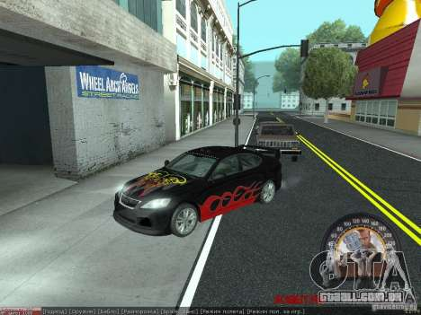 Lexus IS300 para GTA San Andreas esquerda vista