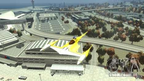 Naboofighter para GTA 4 vista direita